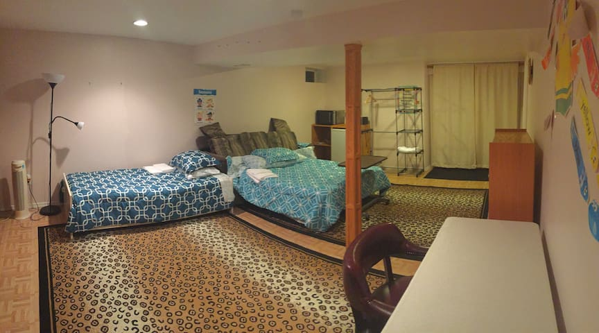 Baltimore County BnB, Private Room W/Bath! - Owings Mills - Casa