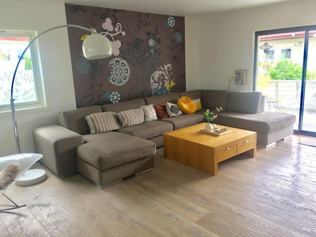 Renewed house for Maximum 8