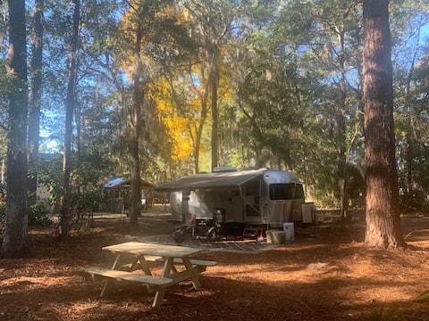 Airstream Glamping at it's best! Perfect social D