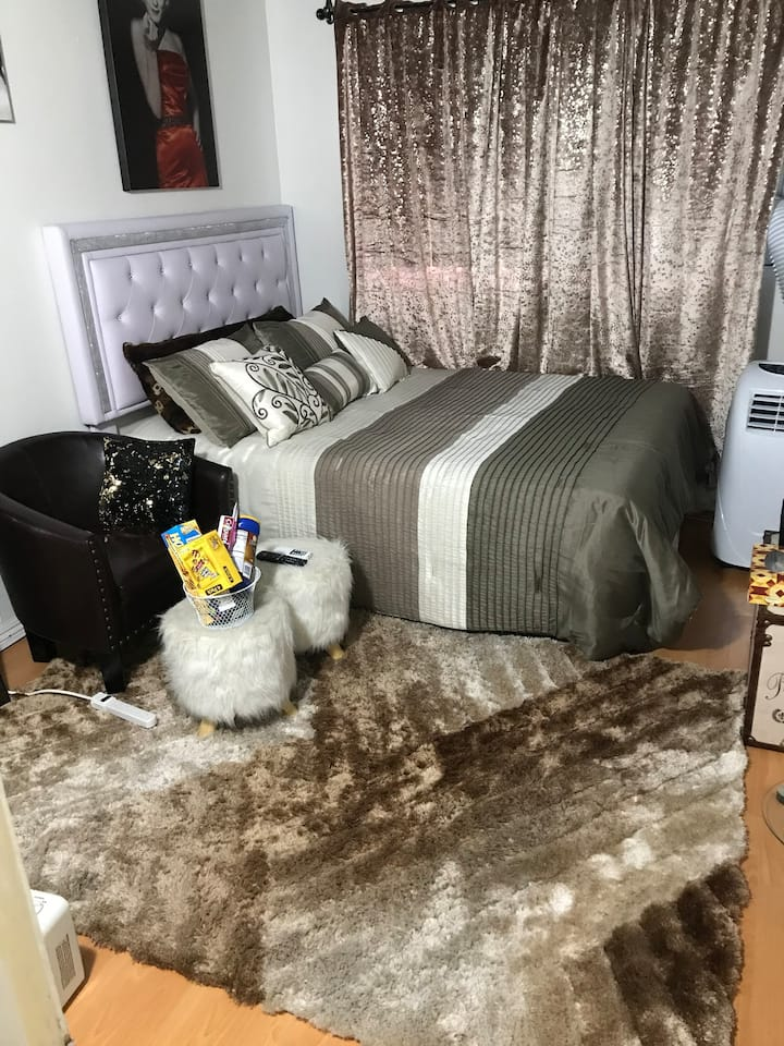 Cosy Private room with AC .WiFi .netflix n Gardena