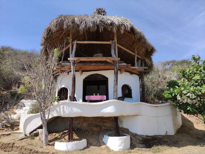 Casa Choroni frente al mar de Zipolite