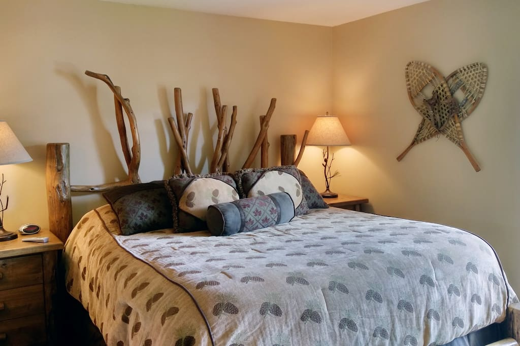 Beaver Creek West Q-2 Master bedroom with King bed