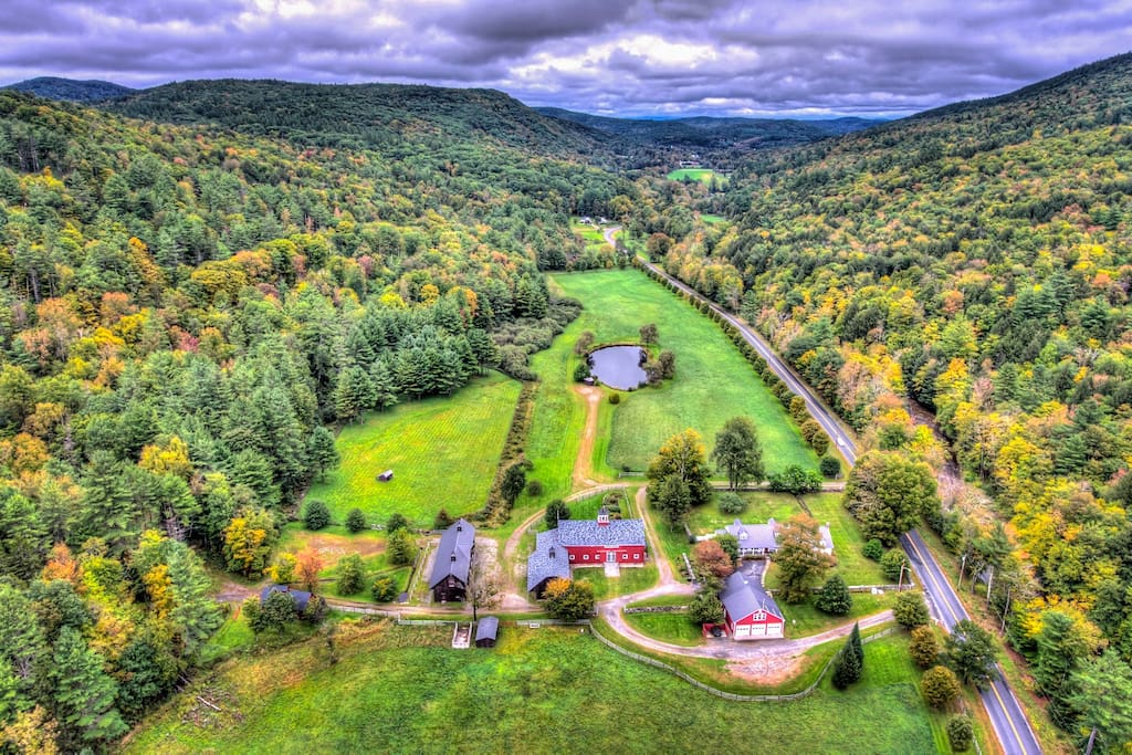 Riverledge Aerial View