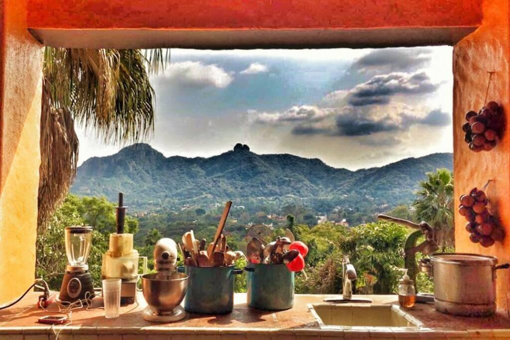 Breathe in the fresh mountain air