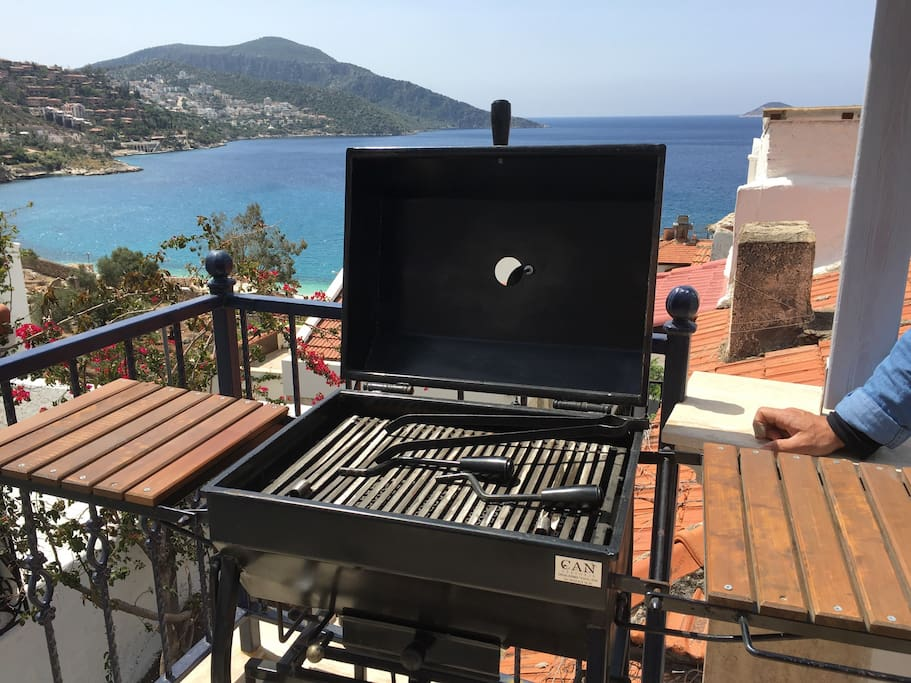 Bespoke barbecue by local craftsman