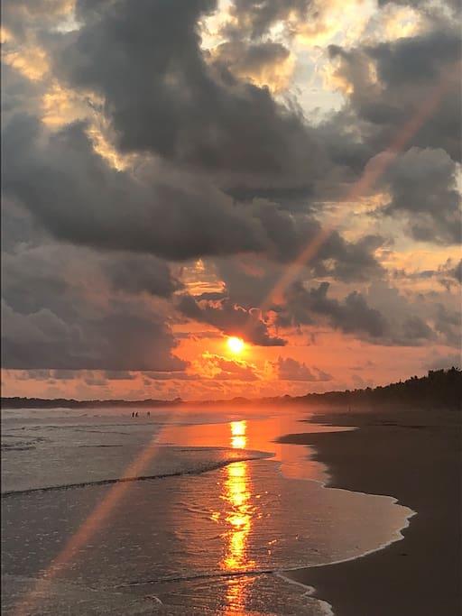Playa Bejuco, Pacífico sur, junto a Esterillos, Parrita