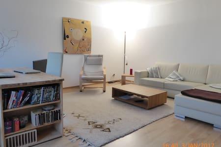 helle Zweizimmer Wohnung mit Balkon in Bad Nauheim - Bad Nauheim