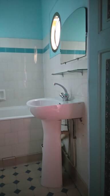 salle de bain ...