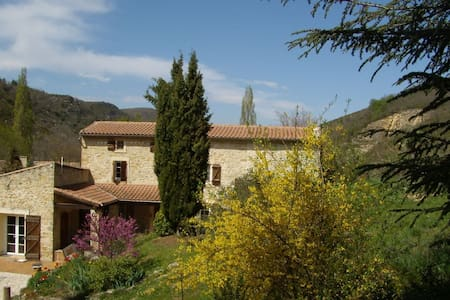 delightful farm house, big pool, romantic grounds - Roquetaillade