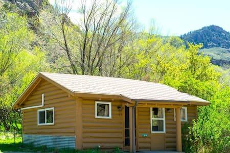 Yellowstone Hot Spring Cabin #1