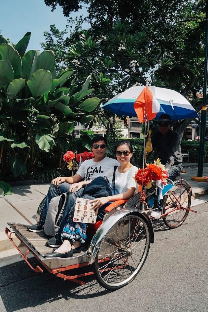 槟城特色-三轮车体验