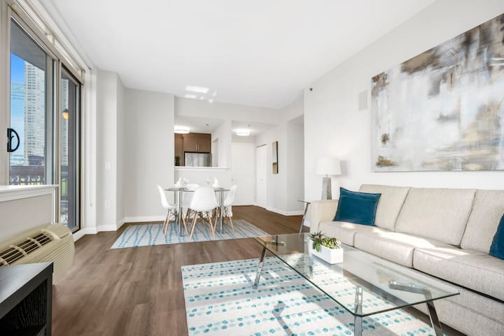 Two Bedroom Apartment Jersey City near the Hudson