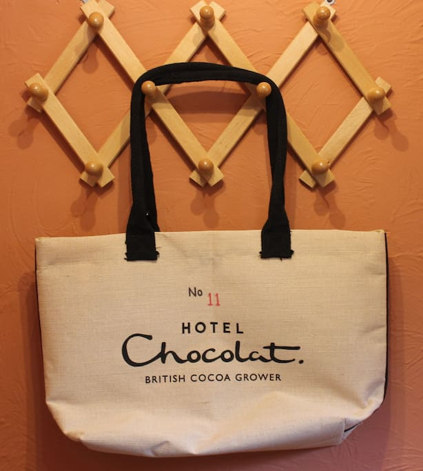 Chocolates in the kitchen provided locally by you know who