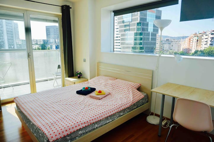 1Room for 2P in modern apartment ,cozy&convenient