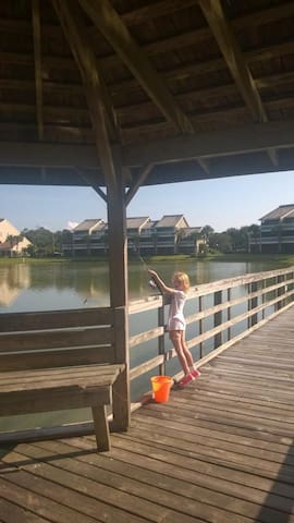 Fishing at Resort!