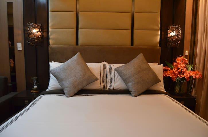 Luxury Studio at Park Terraces Ayala Premier. - Makati