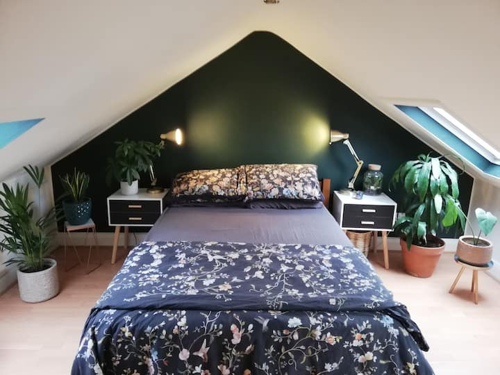 Double attic space Walthamstow.