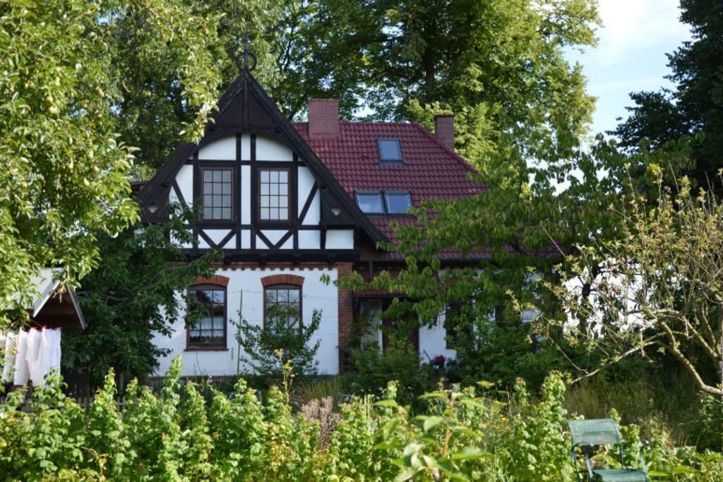 Das 1904 gebaute Forsthaus wurde 2012 renoviert