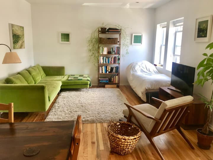 Sunny spacious private room w/ separate entrance