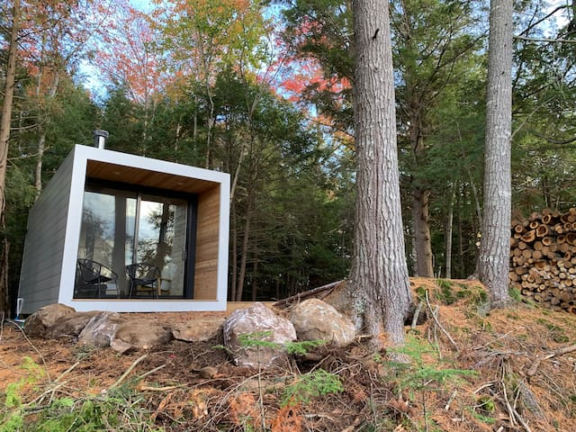 Aux Box Muskoka**HOT TUB**NEW Modern Bunkie