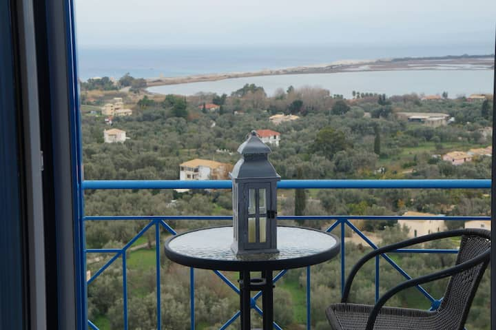 Lefkas Dream, luxurious villa with amazing view