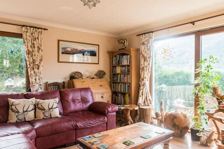 Elm Double Room with Mountain View - Invermoriston