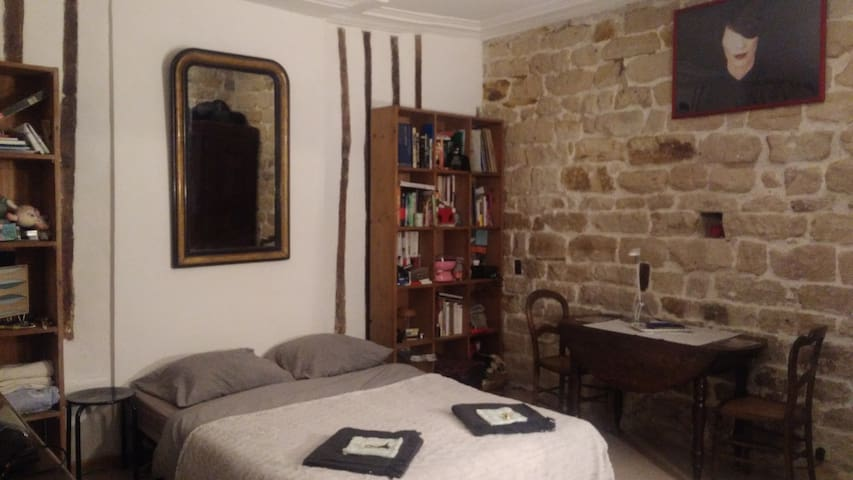 Charming flat in the latin area