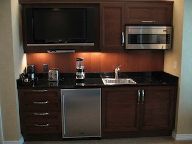 Kitchen in the suite