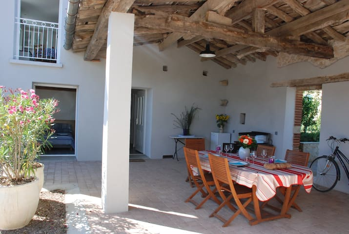 Cosy house in a quiet village b. Albi and Gaillac - Florentin - Apartamento