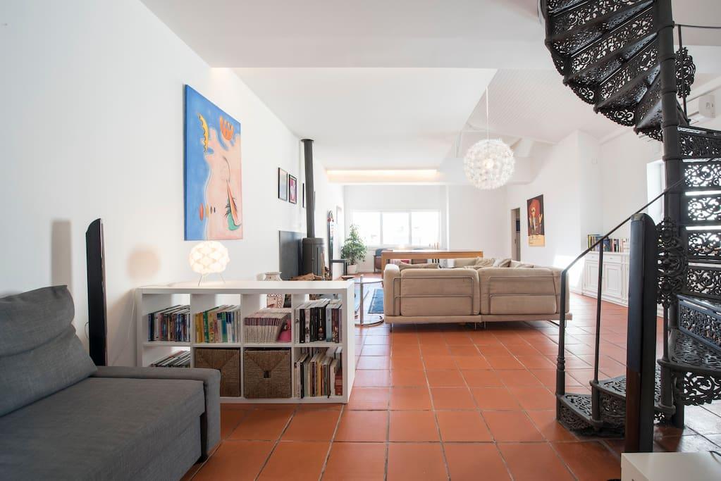 Living-room - 1 st floor