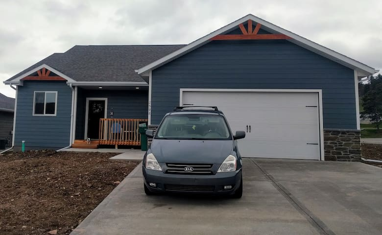 4 bed/2 bath minutes from downtown Sturgis! - Sturgis - Casa