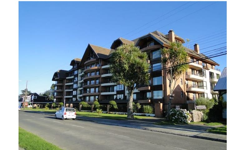 Depto frente al lago, central y cercano casino - Puerto Varas - Appartement