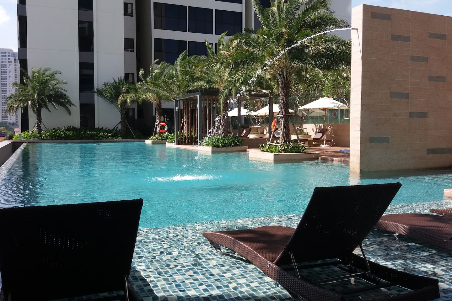 One of two beautiful infiniti pools at The Ascent!!!