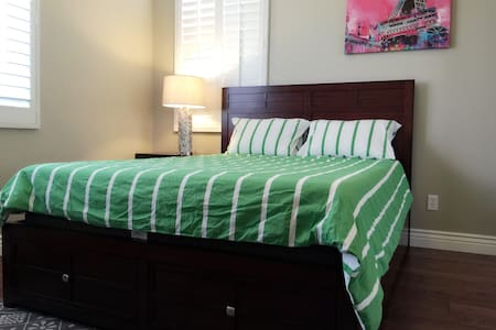 cozy&clean room  (private bathroom ) - Rancho Cucamonga - House