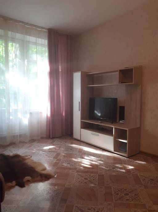 Комната. Телевизор