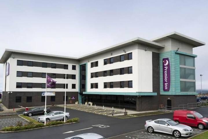 Hotel Room in Premier Inn Ayr - South Ayrshire - Bed & Breakfast