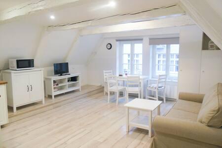 Przytulne studio z antresola - Stare Miasto - Toruń - Huoneisto