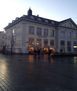 Stor leilighet ved Drammen stasjon - Drammen - Apartament