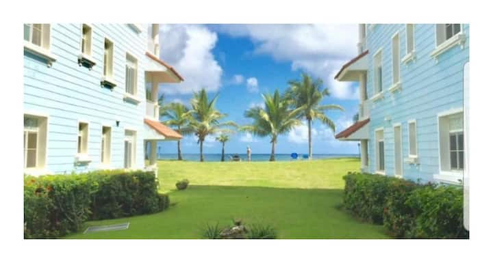 Ocean view luxury condo steps from the beach
