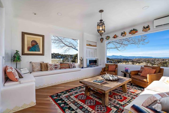 Authentic Luxury Villa with Mountains & Mesa Views