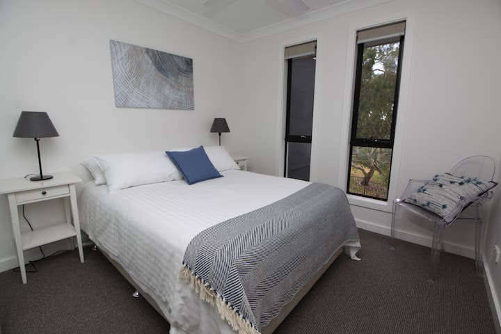 Bedroom 2 'Creek View' - 'The bedrooms were so spacious and comfortable, we didn't want to leave!' - Guest review