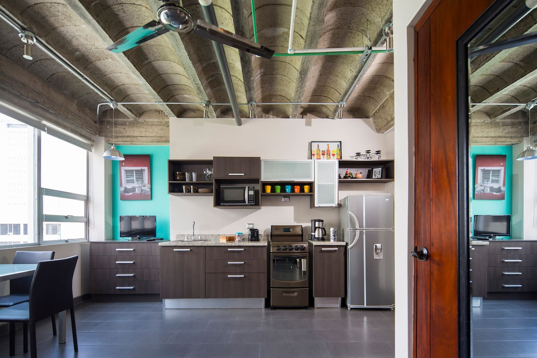 Industrial Style Studio Apartment