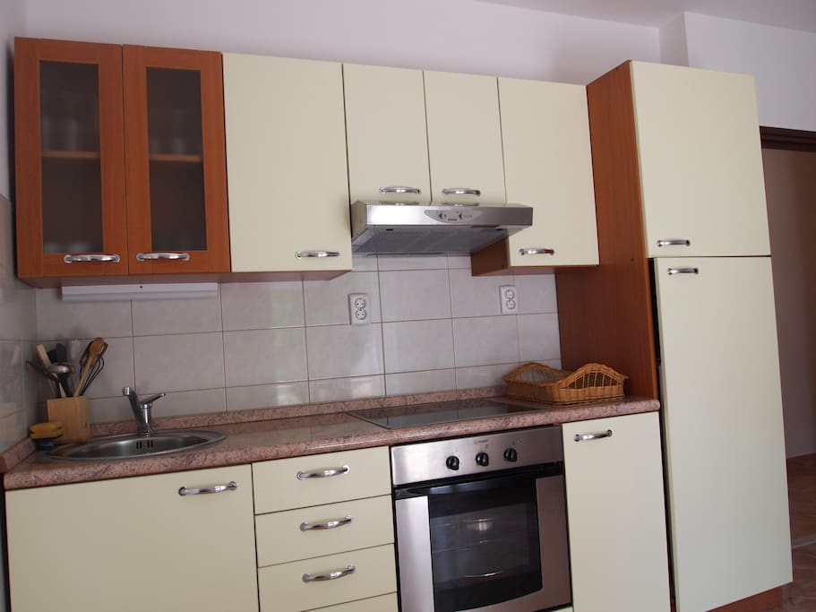 Apartman 2, kitchen