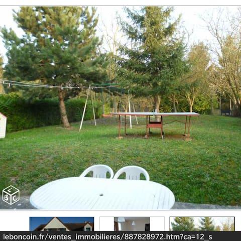 Agréable T4 groundfloor calm jardin - Brétigny-sur-Orge - Квартира
