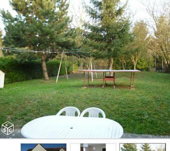 Agréable T4 groundfloor calm jardin - Brétigny-sur-Orge - Apartemen