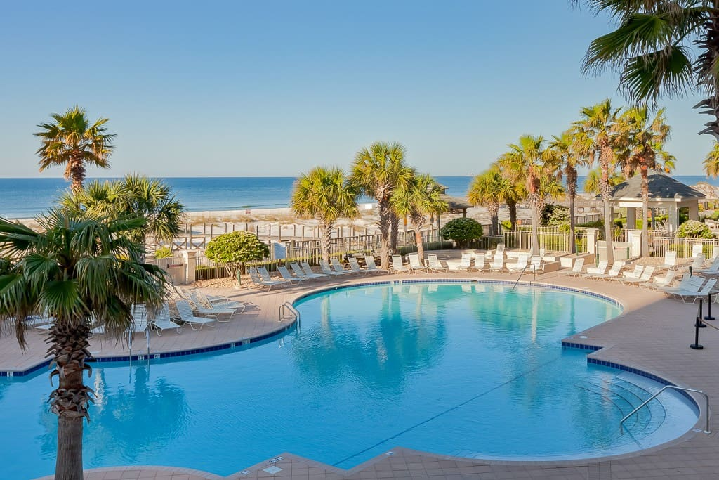Another pristine pool in this beachfront community.