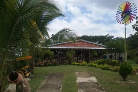 CABAÑA TIGRERA VIA A MINCA - Santa Marta - Hytte