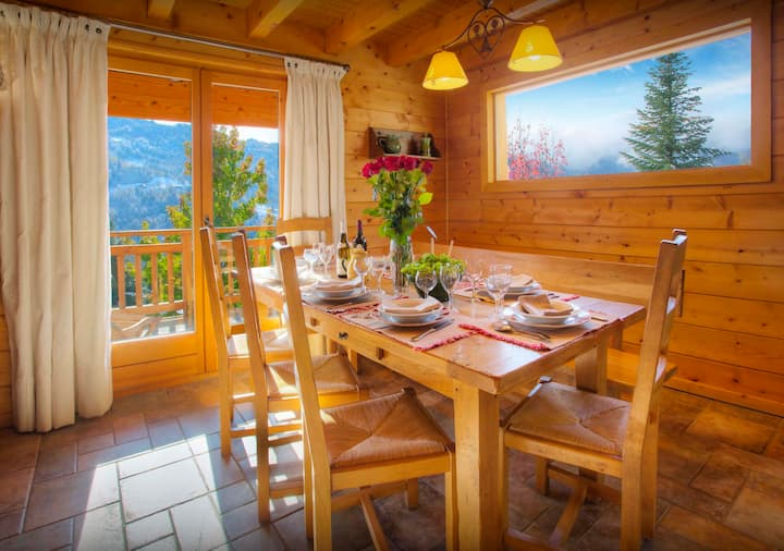 Mountain chalet for 11 - hot tub, sauna and summer pool - OVO Network