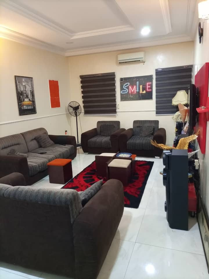 Plush Abuja Home with Style, taste and comfort""