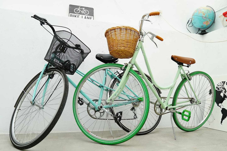 Bicis incluidas en el alquiler